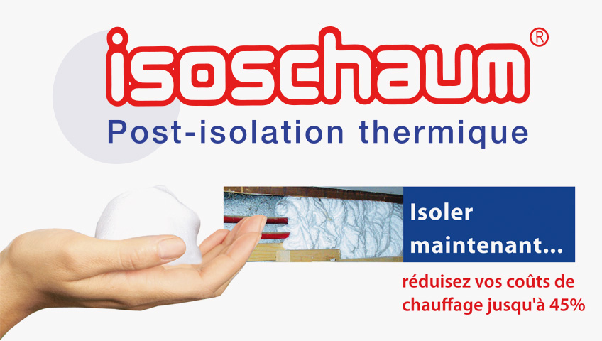 Isoschaum isolation-balcaen